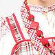 Одежда ручной работы. русский народный костюм Смоленской губернии, этностиль. Нина Куликова. Ярмарка Мастеров. Рубашка, народный стиль