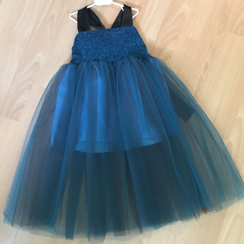 Платье пышное из фатина
