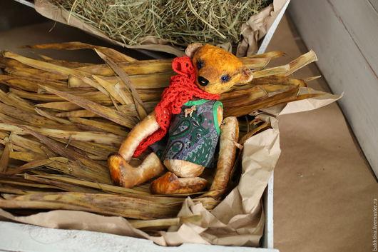 Мишки Тедди ручной работы. Ярмарка Мастеров - ручная работа. Купить Мишка Тедди Маруся. Handmade. Желтый, интерьерная кукла