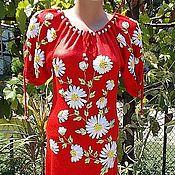 """Одежда ручной работы. Ярмарка Мастеров - ручная работа Платье вязаное: """"Лето красное"""". Handmade."""
