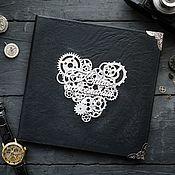 Свадебный салон handmade. Livemaster - original item The book in the Steampunk style. Handmade.