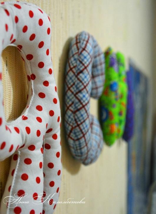 Детская ручной работы. Ярмарка Мастеров - ручная работа. Купить Интерьерные буквы из ткани или фетра.. Handmade. Буквы
