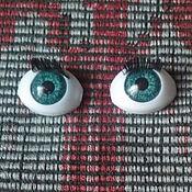 Материалы для творчества ручной работы. Ярмарка Мастеров - ручная работа Глаза с ресницамт. Handmade.
