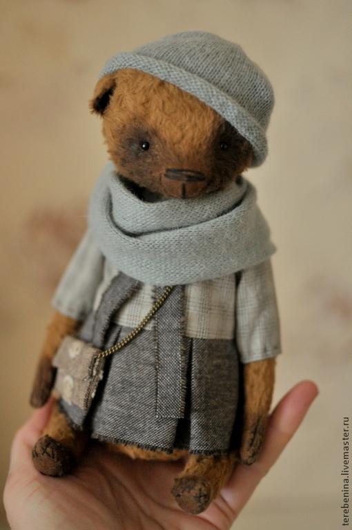 Мишки Тедди ручной работы. Ярмарка Мастеров - ручная работа. Купить Мишка Берта...... Handmade. Коричневый, мишка в подарок