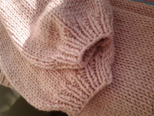 Кофты и свитера ручной работы. Ярмарка Мастеров - ручная работа. Купить вязаный кардиган. Handmade. Бледно-розовый, оверсайз