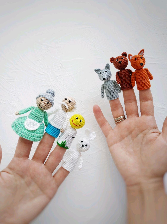 Колобок. Пальчиковый театр, Кукольный театр, Чита,  Фото №1