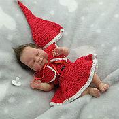 Куклы Reborn ручной работы. Ярмарка Мастеров - ручная работа Полностью силиконовая мини девочка Марьяша 18 см. Handmade.