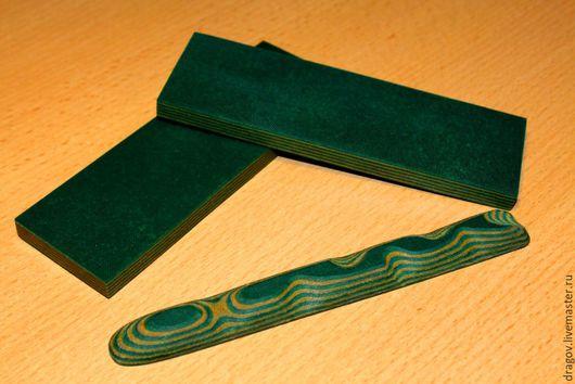 Оружие ручной работы. Ярмарка Мастеров - ручная работа. Купить Micarta #3. Handmade. Микарта, зеленый