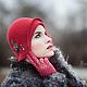 Шляпы ручной работы. Шляпка № 12 Красный Клош. AneleStudio. Ярмарка Мастеров. Шляпка, английская классика, шерсть