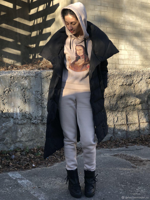 Тёплый прогулочный костюм с начесом, Костюмы, Харьков,  Фото №1