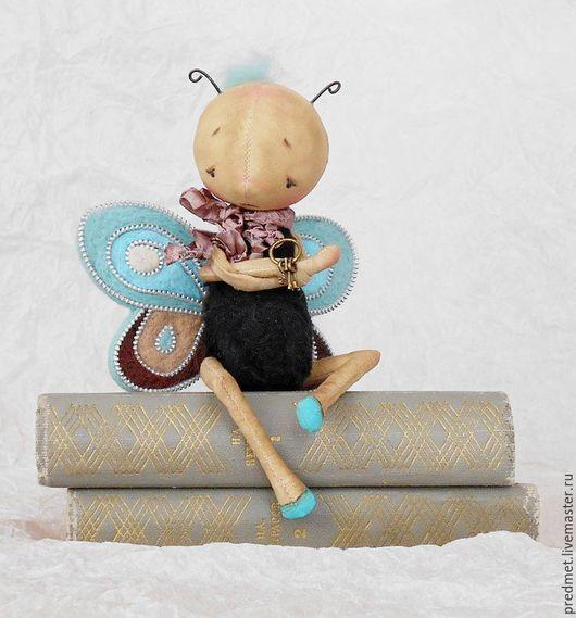 Коллекционные куклы ручной работы. Ярмарка Мастеров - ручная работа. Купить Бабочки. Handmade. Бабочки, крылья, шерсть, акрил