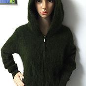 Одежда ручной работы. Ярмарка Мастеров - ручная работа Куртка жакет с капюшоном. Handmade.