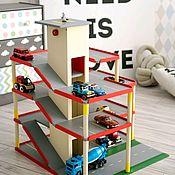 Техника, роботы, транспорт ручной работы. Ярмарка Мастеров - ручная работа Парковка с лифтом. Handmade.