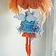 Коллекционные куклы ручной работы. Саманта...или пусть всегда будет Солнце! ))). ЛёнАлёна. Ярмарка Мастеров. голубые глаза