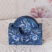 Для дома и интерьера handmade. Livemaster - original item Stand under the hot painted