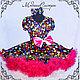 """Одежда для девочек, ручной работы. Ярмарка Мастеров - ручная работа. Купить Детское платье """"Стиляги"""" Арт.154. Handmade. Стиляги"""