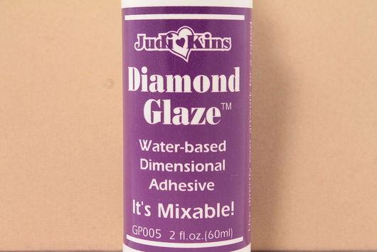 Для украшений ручной работы. Ярмарка Мастеров - ручная работа. Купить Глазурь Diamond Glaze, флакон 60мл. Handmade. Глазурь