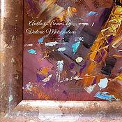 Фоторамки ручной работы. Ярмарка Мастеров - ручная работа Авторская рама Современная  с покрытием поталью. Рама на заказ. Handmade.