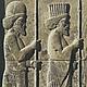 Фрагмент стены дворцового комплекса, империя Ахеменидов, 522-486 гг. до н.э., г. Персеполь, Иран. Прообраз нашей работы.
