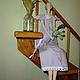 Куклы Тильды ручной работы. Лавандовый Ангел.. Раиса К. Интернет-магазин Ярмарка Мастеров. Лавандовый, тильда кукла, холофайбер