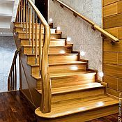 Для дома и интерьера handmade. Livemaster - original item 20. The stairs are made of oak. Handmade.