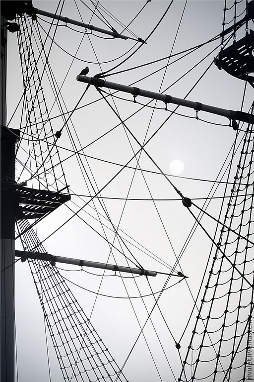 Black and white nautical photography large abstract ship print basics of nautical geometry
