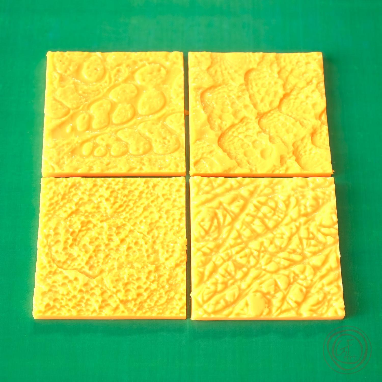 Другие виды рукоделия ручной работы. Ярмарка Мастеров - ручная работа. Купить Набор силиконовых мини 3D текстур №5. Handmade.