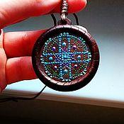 Фен-шуй и эзотерика handmade. Livemaster - original item Saturn`s Yantra Pendant. Handmade.