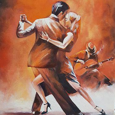 Картины и панно ручной работы. Ярмарка Мастеров - ручная работа Картины: Аргентинское танго. Handmade.
