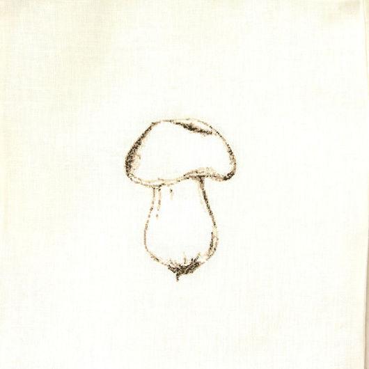 """Кухня ручной работы. Ярмарка Мастеров - ручная работа. Купить Льняной мешок """"Белый"""". Handmade. Мешочек для хлеба, подарок маме"""