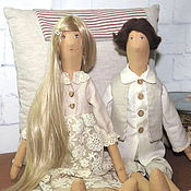 Куклы и игрушки handmade. Livemaster - original item Textile doll in the English style. Handmade.
