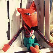 Куклы и игрушки ручной работы. Ярмарка Мастеров - ручная работа Живой Лисенок. Handmade.
