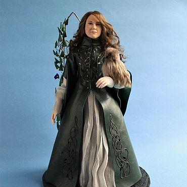 Куклы и игрушки ручной работы. Ярмарка Мастеров - ручная работа Портретная кукла в готическом платье. Handmade.