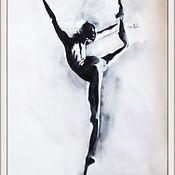 Картины и панно ручной работы. Ярмарка Мастеров - ручная работа картина 7 Балет- любовь моя. Handmade.