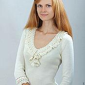 Одежда ручной работы. Ярмарка Мастеров - ручная работа Платье  вязаное 4483. Handmade.