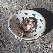 Украшения handmade. Livemaster - original item Plate for rings and jewelry colored. Handmade.