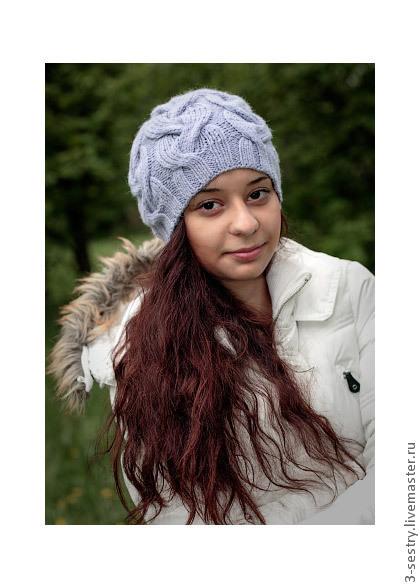 Шапка, шапки, шапочка, вязаная шапка, вязаные шапки, сиреневый, женская шапка, женские шапки, теплая шапка, шапка на зиму, красивая шапка, шапка косы, шапка с узором, шапки женские, модные шапки.