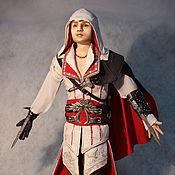 Куклы и игрушки ручной работы. Ярмарка Мастеров - ручная работа Ассасин Эцио Аудиторе да Фиренце авторская портретная кукла. Handmade.