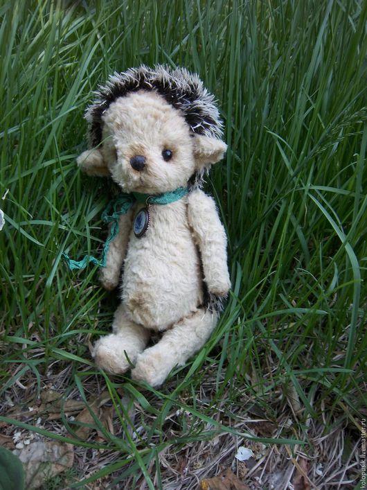 Мишки Тедди ручной работы. Ярмарка Мастеров - ручная работа. Купить Ежик тедди. Handmade. Бежевый, ежик в подарок