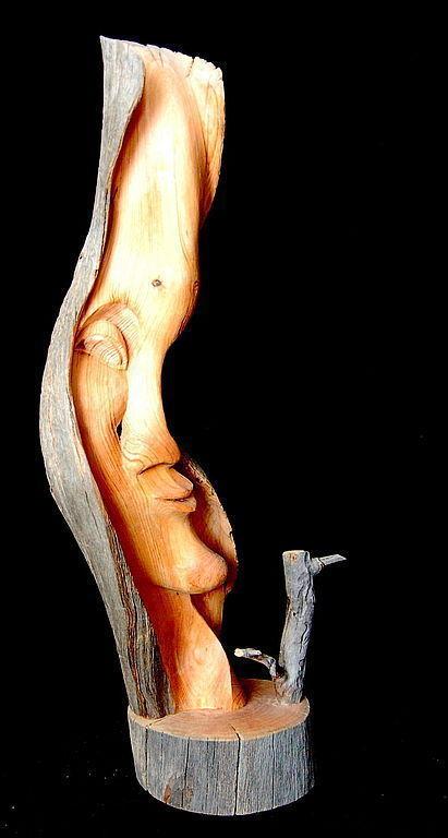 """Статуэтки ручной работы. Ярмарка Мастеров - ручная работа. Купить """"Зима"""" (скульптурная композиция). Handmade. Статуэтка, скульптурная композиция, Север"""