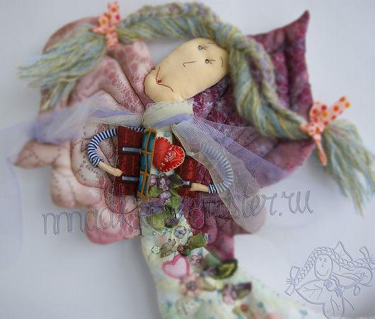Душа на распашку Текстильная кукла ручной работы Бурдакова Надя nnnadka