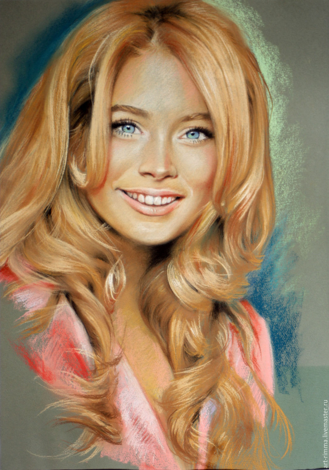 Portrait of pastel, Pictures, Moscow,  Фото №1