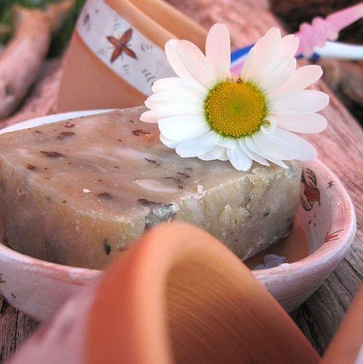 """Мыло ручной работы. Ярмарка Мастеров - ручная работа. Купить мыло с нуля """"Березонька"""". Handmade. Бежевый, натуральное мыло"""