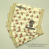 Материалы для творчества handmade. Livemaster - original item Envelopes small paper 10х7,5 cm. Handmade.