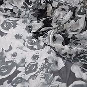 Ткани ручной работы. Ярмарка Мастеров - ручная работа Шифон шелковый. Италия. Handmade.