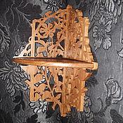 Для дома и интерьера ручной работы. Ярмарка Мастеров - ручная работа Полка угловая стрекоза R. Handmade.