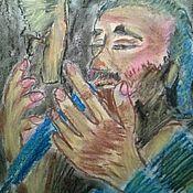 Картины ручной работы. Ярмарка Мастеров - ручная работа Соловей улетел. Демис Руссос. Handmade.