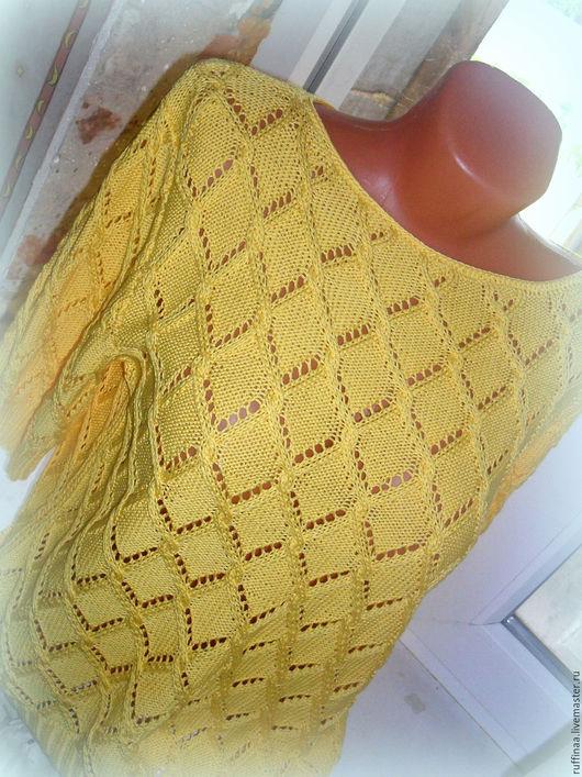 Кофты и свитера ручной работы. Ярмарка Мастеров - ручная работа. Купить Yellow.. Handmade. Желтый, блузка женская