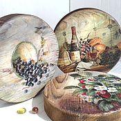 Для дома и интерьера handmade. Livemaster - original item Cheese Board. Handmade.