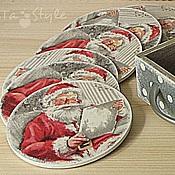 Для дома и интерьера ручной работы. Ярмарка Мастеров - ручная работа Подставки под чашки, бокалы  Письмо Деду Морозу. Handmade.
